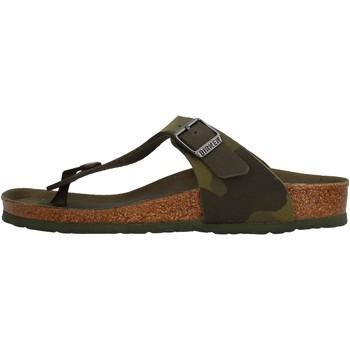 Sapatos Rapaz Chinelos Birkenstock - Gizeh verde 1015597 VERDE