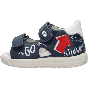Sapatos Rapaz Sandálias Falcotto - Sandalo blu NORTE-1C49 BLU