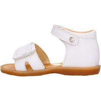Sapatos Rapaz Sandálias Naturino - Sandalo bianco BRIENNE-0N01 BIANCO