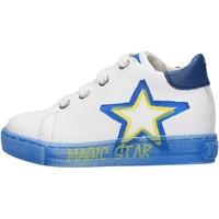 Sapatos Rapaz Sapatilhas Falcotto - Polacchino bianco NEDO-1N06 BIANCO