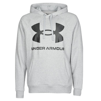 Textil Homem Sweats Under Armour UA RIVAL FLEECE BIG LOGO HD Cinza / Claro