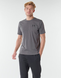 Textil Homem T-Shirt mangas curtas Under Armour SPORTSTYLE LEFT CHEST SS Cinza