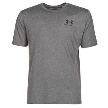 Textil Homem T-Shirt mangas curtas Under Armour SPORTSTYLE LEFT CHEST SS Cinza