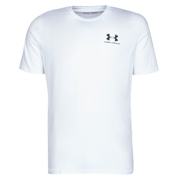 Textil Homem T-Shirt mangas curtas Under Armour SPORTSTYLE LEFT CHEST SS Branco