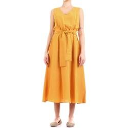 Textil Mulher Vestidos compridos Fly Girl 9890-02 Amarelo