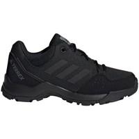 Sapatos Criança Sapatos de caminhada adidas Originals Terrex Hyperhiker Low K Preto