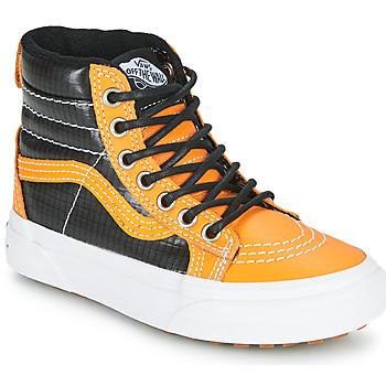 Sapatos Rapaz Sapatilhas de cano-alto Vans SK8-HI MTE Camel / Preto