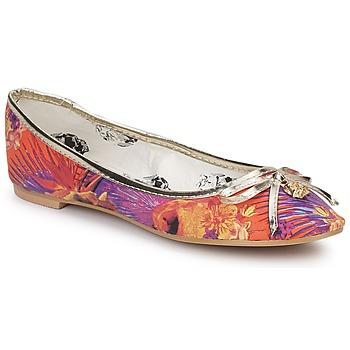 Sapatos Mulher Sabrinas Iron Fist REINA MUERTE BALLERINA FLAT Multicolor
