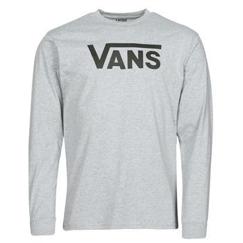 Textil Homem T-shirt mangas compridas Vans VANS CLASSIC LS Cinza