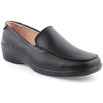 Sapatos Mulher Mocassins L&m L Shoes Lady Preto