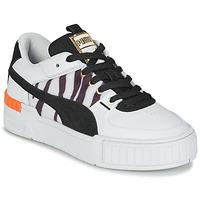 Sapatos Mulher Sapatilhas Puma CALI SPORT WILD Branco / Preto