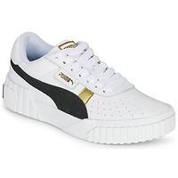 Sapatos Mulher Sapatilhas Puma CALI VARSITY Branco / Preto
