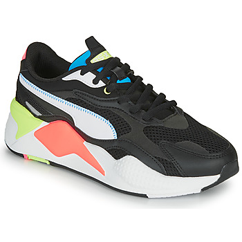 Sapatos Sapatilhas Puma RS-X3 Preto / Branco / Coral