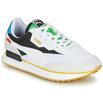 Sapatos Sapatilhas Puma FUTURE RIDER Unity Collection Branco / Preto