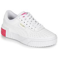 Sapatos Rapariga Sapatilhas Puma CALI JR Branco / Rosa