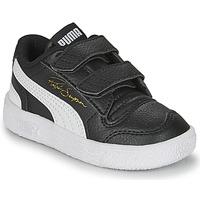 Sapatos Criança Sapatilhas Puma RALPH SAMPSON LO INF Preto / Branco