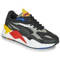 Sapatos Sapatilhas Puma RS-X3 Preto / Vermelho / Amarelo