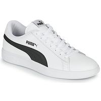 Sapatos Homem Sapatilhas Puma SMASH Branco / Preto