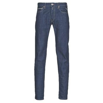 Textil Homem Calças Jeans Replay GROVER Azul / Escuro