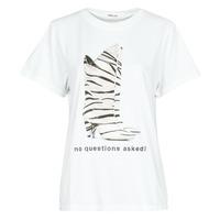 Textil Mulher T-Shirt mangas curtas Replay W3509D Branco
