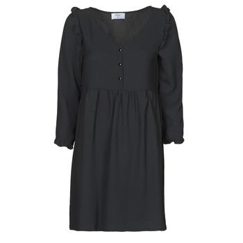 Textil Mulher Vestidos curtos Betty London JABALA Preto