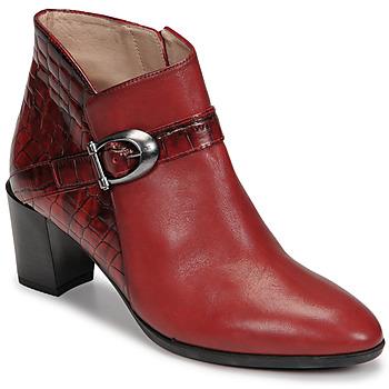 Sapatos Mulher Botins Hispanitas PIRINEO Vermelho