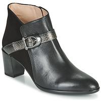 Sapatos Mulher Botins Hispanitas PIRINEO Preto