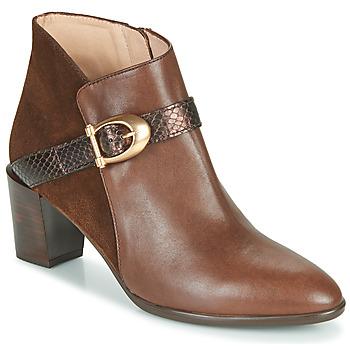 Sapatos Mulher Botins Hispanitas PIRINEO Castanho