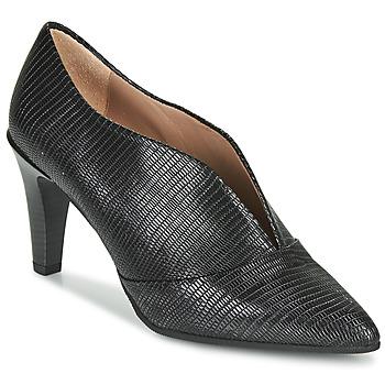 Sapatos Mulher Botas baixas Hispanitas BELEN-7 Preto