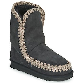 Sapatos Mulher Botas baixas Mou ESKIMO 24 Preto