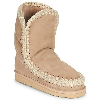 Sapatos Mulher Botas baixas Mou ESKIMO 24 Bege