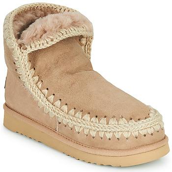 Sapatos Mulher Botas baixas Mou ESKIMO 18 Bege