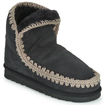Sapatos Mulher Botas baixas Mou ESKIMO 18 Preto