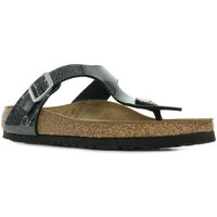Sapatos Mulher Chinelos Birkenstock Gizeh BS Cosmic Sparkle Cinza