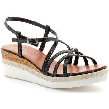 Sapatos Mulher Sandálias Porronet fi2596 Noir