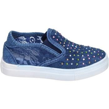 Sapatos Rapariga Slip on Asso BM448 Azul