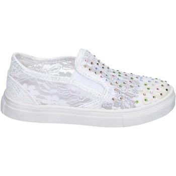 Sapatos Rapariga Slip on Asso BM449 Branco