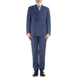 Textil Homem Fatos Cesare Attolini S20WA30 B12 Azul