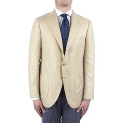 Textil Homem Casacos/Blazers Cesare Attolini S20MA43 Amarelo