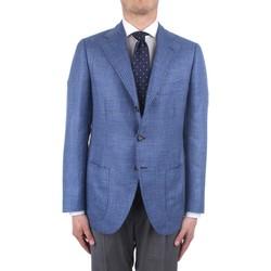 Textil Homem Casacos/Blazers Cesare Attolini S20MA43 Azul