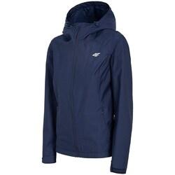 Textil Mulher Corta vento 4F KUD001 Azul marinho