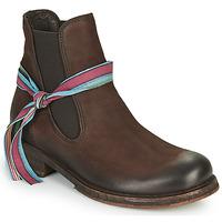 Sapatos Mulher Botas baixas Felmini COOPER Castanho