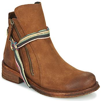 Sapatos Mulher Botas baixas Felmini COOPER Camel