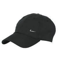 Acessórios Boné Nike U NSW H86 METAL SWOOSH CAP Preto / Prata