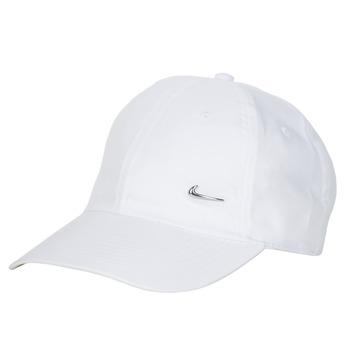 Acessórios Boné Nike U NSW H86 METAL SWOOSH CAP Branco / Prata