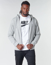 Textil Homem Sweats Nike M NSW CLUB HOODIE FZ BB Cinza