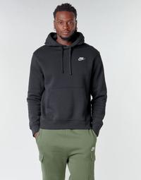 Textil Homem Sweats Nike M NSW CLUB HOODIE PO BB Preto / Branco