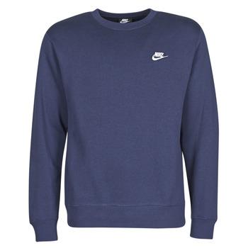 Textil Homem Sweats Nike M NSW CLUB CRW BB Azul