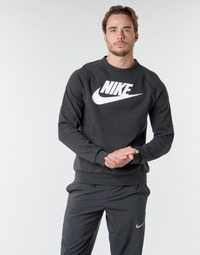 Textil Homem Sweats Nike M NSW MODERN CRW FLC HBR Preto / Branco