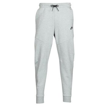Textil Homem Calças de treino Nike M NSW TCH FLC JGGR Cinza